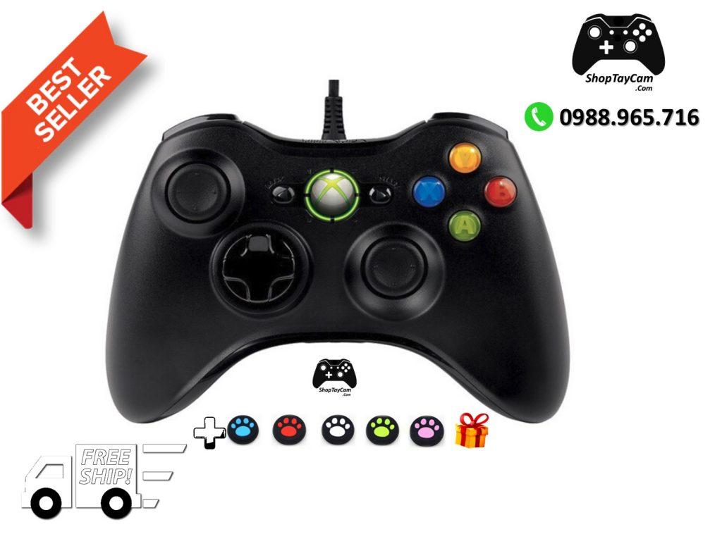 Tay Cầm Xbox 360 Controller Chơi Game Cho PC / FO3 / FO4 Loại Thường [ BÁN CHẠY ]